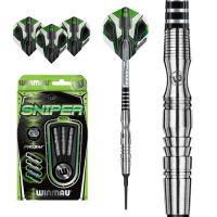 Dartpijlen Wimau Sniper 90% Tungsten - Soft Tip