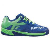 Handbalschoenen Kempa Wing 2.0 Junior - Blauw-Groen