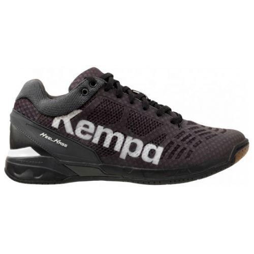 Handbalschoenen Kempa Attack Midcut - Zwart