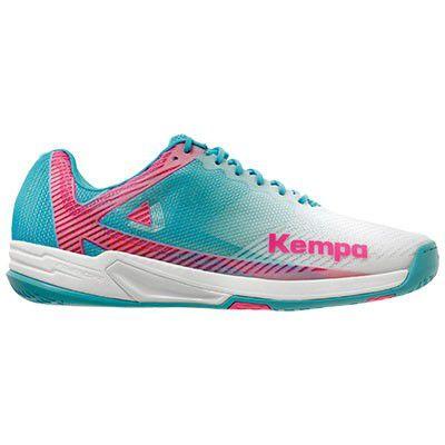 Handbalschoenen Kempa Wing 2.0 Dames - Wit/Blauw