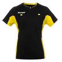 Kempa Scheidsrechter Shirt Vrouwen - Zwart/Geel