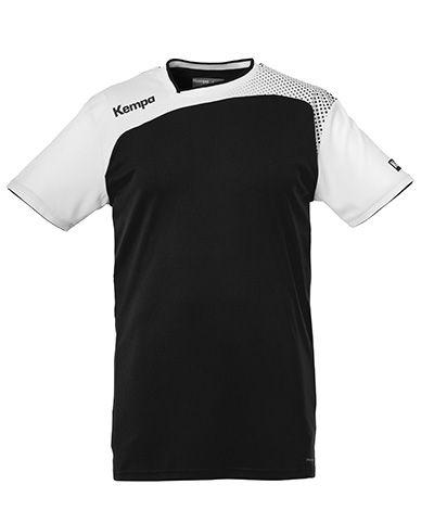 Kempa Handbal Shirt Emotion - Zwart/Wit
