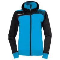 Kempa Dames Emotion Jacket met capuchon - Blauw-Zwart