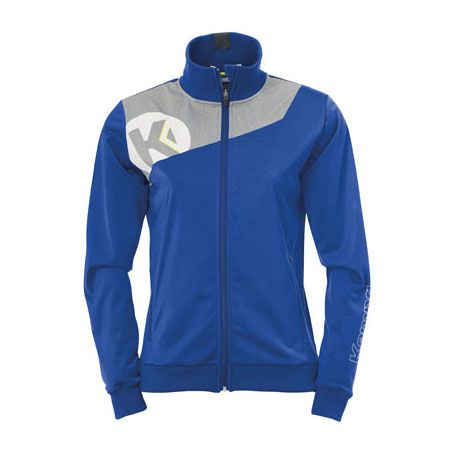 Dames Kempa Core 2.0 Poly Jacket - Royal-Grijs