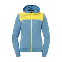 Dames Kempa Emotion 2.0 Hooded Jacket - Dove Blue
