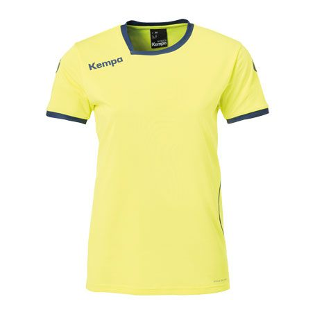 Kempa Dames Handbalshirt Curve - Geel