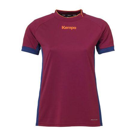 Kempa Dames Handbalshirt Prime - Diep Rood