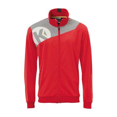 Kempa Handbal Core 2.0 Poly Jacket - Rood-Grijs