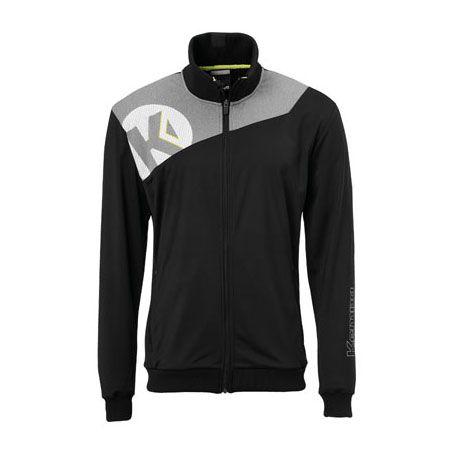 Kempa Handbal Core 2.0 Poly Jacket - Zwart-Grijs