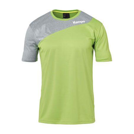 Kempa Handbalshirt Core 2.0 - Groen-Grijs