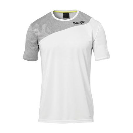 Kempa Handbalshirt Core 2.0 - Wit-Grijs
