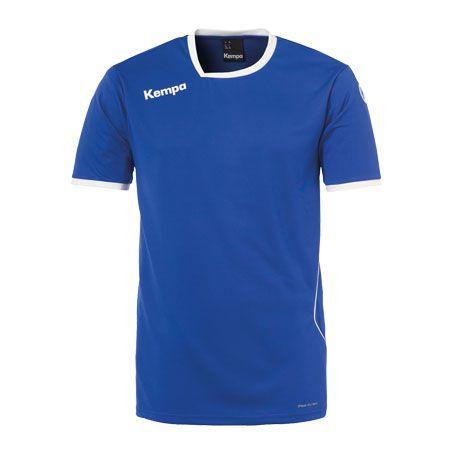 Kempa Handbalshirt Curve - Royal-Wit