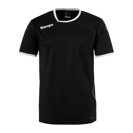 Kempa Handbalshirt Curve - Zwart-Wit