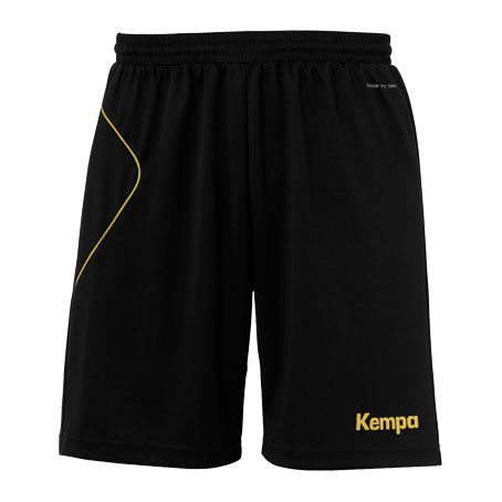 Kempa Handbalbroekje Curve - Zwart-Goud