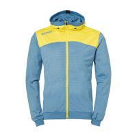Kempa Handbal Emotion 2.0 Hooded Jacket - Dove Blue