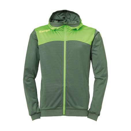 Kempa Handbal Emotion 2.0 Hooded Jacket - Groen