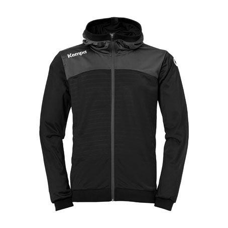 Kempa Handbal Emotion 2.0 Hooded Jacket - Zwart-Antra