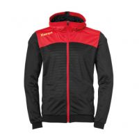 Kempa Handbal Emotion 2.0 Hooded Jacket - Zwart-Rood