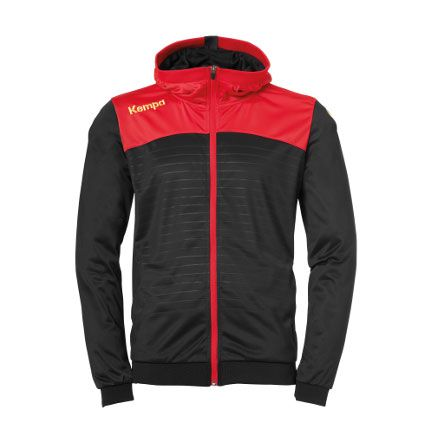 Kempa Handbal Emotion 2.0 Hooded Jacket - Zwart-Rood