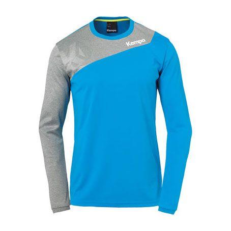 Kempa Handbalshirt Core 2.0 LS - Blauw-Grijs