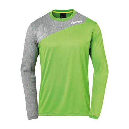 Kempa Handbalshirt Core 2.0 LS - Groen-Grijs