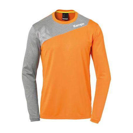Kempa Handbalshirt Core 2.0 LS - Oranje-Grijs