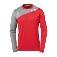 Kempa Handbalshirt Core 2.0 LS - Rood-Grijs