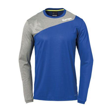 Kempa Handbalshirt Core 2.0 LS - Royal-Grijs