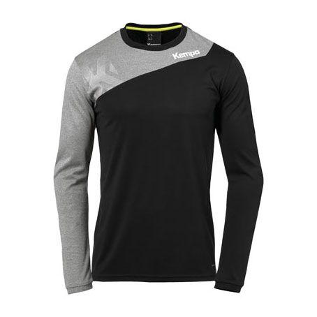 Kempa Handbalshirt Core 2.0 LS - Zwart-Grijs