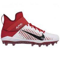Korfbalschoenen Nike Alpha Menace Pro 2 Mid - Wit-Rood