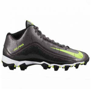 Korfbalschoenen Nike Alpha Shark 2 3-4 - Grijs