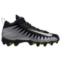 Korfbalschoenen Nike Alpha Menace Shark Zwart-Zilver