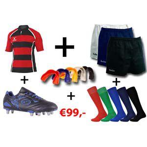 Rugby basispakket aanbieding