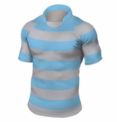 Rugbyshirt 3 Inch Hoops