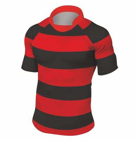 Rugbyshirt 4 Inch Hoops