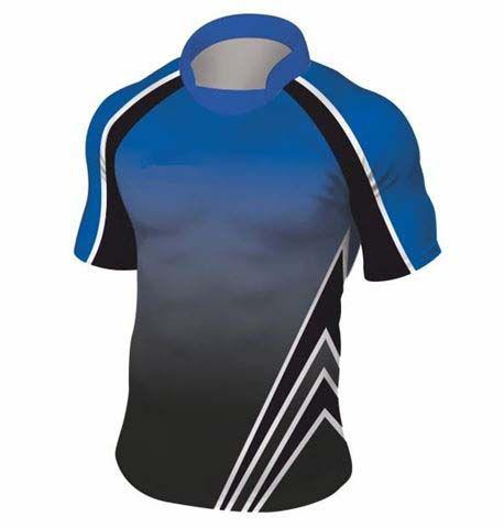 Rugbyshirt Faded Flash