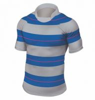 Rugbyshirt Irregular Hoops 1