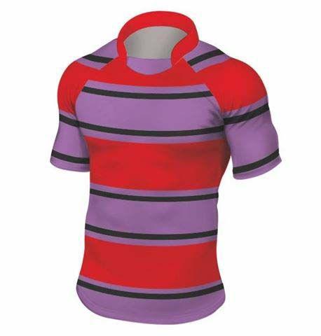 Rugbyshirt Irregular Hoops 2