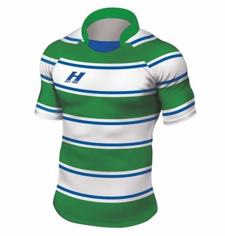 Rugbyshirt Irregular Hoops 3