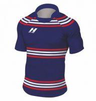 Rugbyshirt Irregular Hoops 4