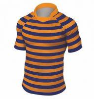 Rugbyshirt design gestreept 1 inch