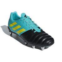Rugbyschoenen Adidas Kakari (SG) - Zwart-Geel-Blauw