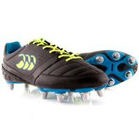 Rugbyschoenen Canterbury Phoenix Black-Safety Yellow