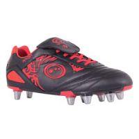 Rugbyschoenen Optimum Razor Rood-Zwart