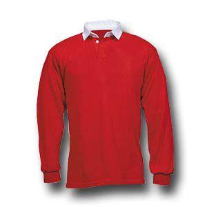 Rugbyshirt Effen