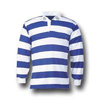 Rugbyshirt Evenwijdig gestreept