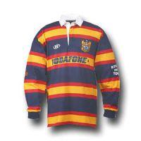 Rugbyshirt Ongelijk Gestreept