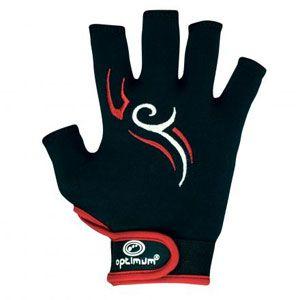 Optimum Glove Stick Mit - Zwart-Rood-Wit