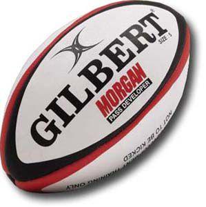 Rugbybal Gilbert Morgan Pass Developer