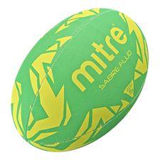 Rugbybal Mitre Sabre Fluo - Groen/Geel